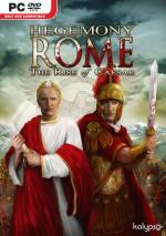 Hegemony Rome: The Rise of Caesar dvd cover