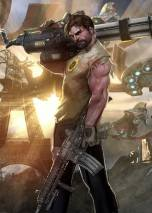 Serious Sam 4 dvd cover