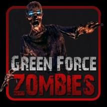 Green Force: Zombies - HD dvd cover