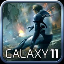 Galaxy 11 Shooting Soccer Cover
