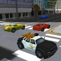 3D Police Car Takedown dvd cover