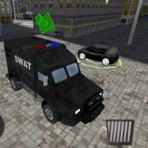 SWAT Police Car Driver 3D dvd cover
