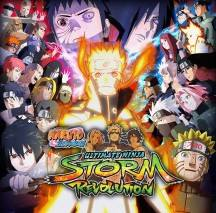 NARUTO SHIPPUDEN: Ultimate Ninja STORM Revolution dvd cover