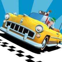 Crazy Taxi City Rush dvd cover
