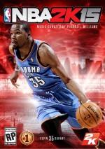 NBA 2K15 dvd cover