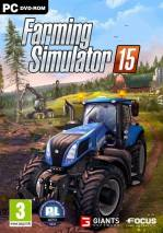 Farming Simulator 15 dvd cover