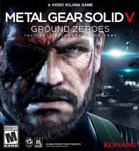 METAL GEAR SOLID V: GROUND ZEROES cd cover