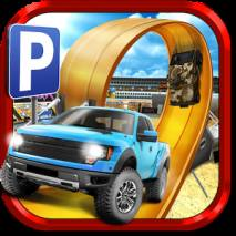 3D Monster Truck Parking Game dvd cover