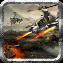 Helicopter Tanks War Cover