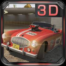Ultimate 3D: Classic car rally dvd cover