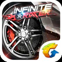 Infinite Racer: Blazing Speed dvd cover
