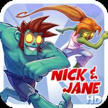 Nick & Jane HD dvd cover