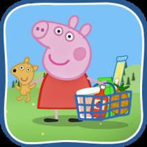 Peppa in the Supermarket dvd cover