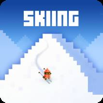 Skiing Yeti Mountain Cover