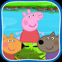 Peppa on the River dvd cover