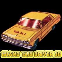 Grand Taxi Driver 3D dvd cover