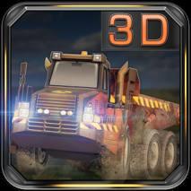 Dump Truck 3D Racing dvd cover
