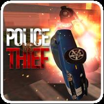 POLICE VS THIEF dvd cover