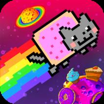 Nyan Cat: The Space Journey dvd cover