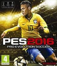 Pro Evolution Soccer 2016 dvd cover