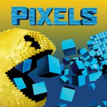 Pixels Defense dvd cover