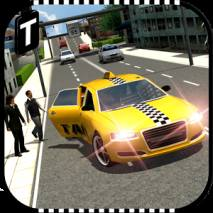 Modern Taxi Driving 3D dvd cover