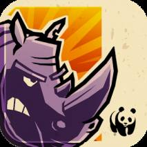 WWF Rhino Raid dvd cover