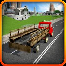 Modern Truck Driving 3D dvd cover