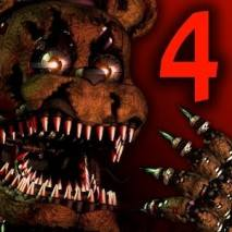 Five Nights at Freddy's 4 dvd cover
