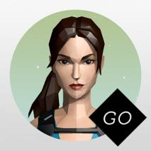 Lara Croft GO dvd cover
