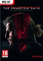 Metal Gear Solid V: The Phantom Pain dvd cover