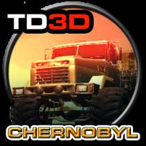 Truck driver 3D CHERNOBYL Cover