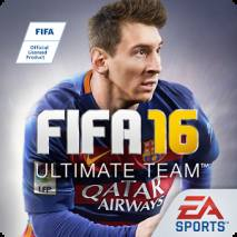 FIFA 16 Ultimate Team dvd cover