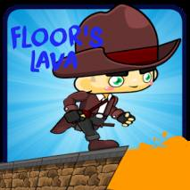 Floor's Lava dvd cover