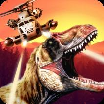 DINO GUNSHIP: Airborne Hunter dvd cover