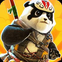 Ninja Panda Run: Ninja Exam dvd cover