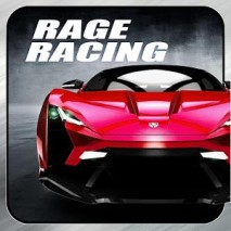 Rage Racing 3D dvd cover