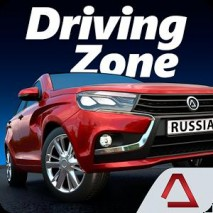 Driving Zone: Russia dvd cover