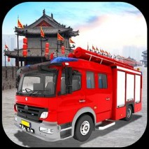 Chinatown Firetruck Simulator dvd cover