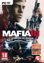 Mafia III dvd cover
