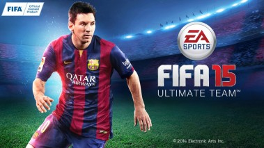 FIFA 15 Soccer Ultimate Team dvd cover