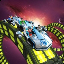 Roller Coaster Simulator Space dvd cover