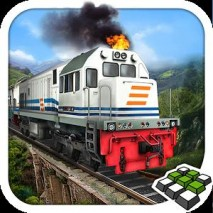 Indonesian Train Simulator dvd cover