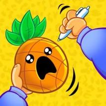 Pineapple Pen Cover