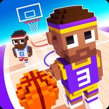 Blocky Basketball Cover