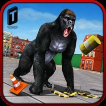 Ultimate Gorilla Rampage 3D dvd cover