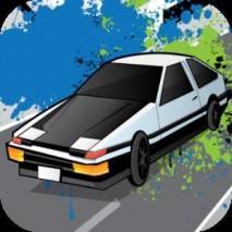 Highway Car Chaser Lane Racer dvd cover