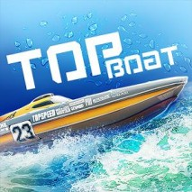 Top Boat: Racing Simulator 3D dvd cover