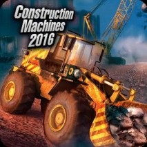 Construction Machines 2016 dvd cover