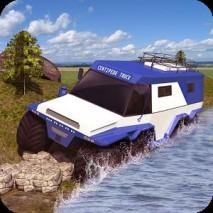 Offroad Centipede Truck Sim 3D dvd cover
